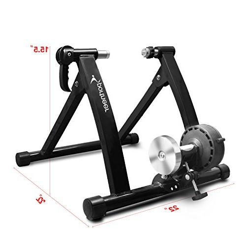 Sportneer Trainer Steel Stand with Noise Reduction Wheel,