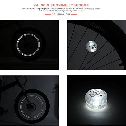 Glumes LED Waterproof Light LED Changes Modes Tire Lights Bike/Road Bikes/BMX Bike/Hybrid Bike/Folding Bike