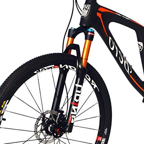 BEIOU Mountain Bicycles 27.5 Inch Bike Shimano SLX 1x11 T700 Frame Matte