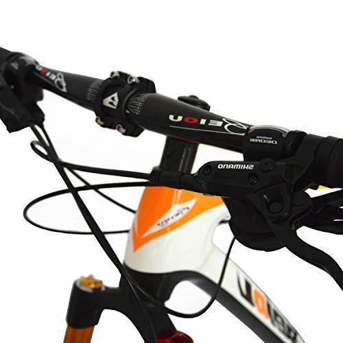 BEIOU Bike MTB Shimano M610 DEORE 30 Ultralight RT 26 Routing Orange
