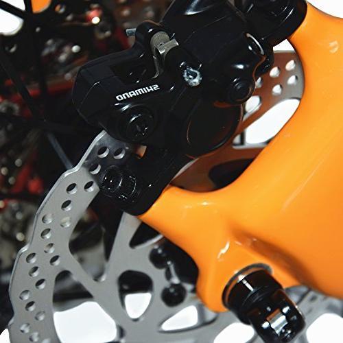 BEIOU Fiber Mountain Bike Hardtail M610 30 Speed Ultralight 10.8 RT 26 Routing Orange CB005