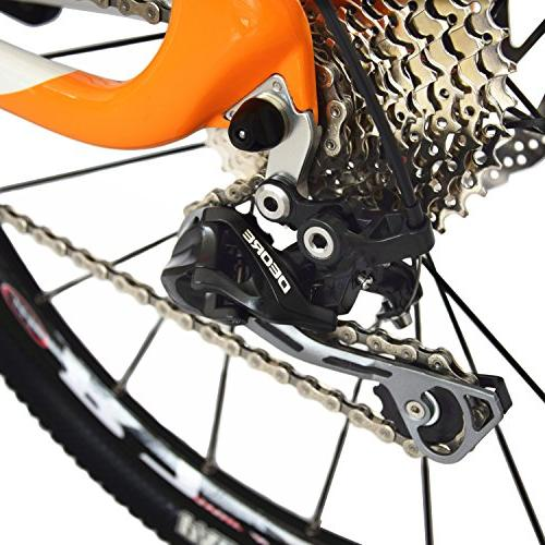 Bike MTB M610 Ultralight 10.8 26 Professional Cable Routing T800 Glossy Orange