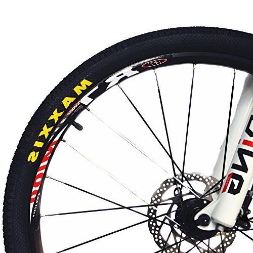 BEIOU Mountain Bike Hardtail Shimano M610 DEORE Ultralight 10.8 kg 26 External Routing Toray Orange