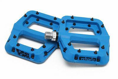 chester composite platform pedals blue