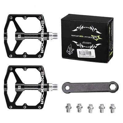 cycling road mountain bike pedals carbon fiber