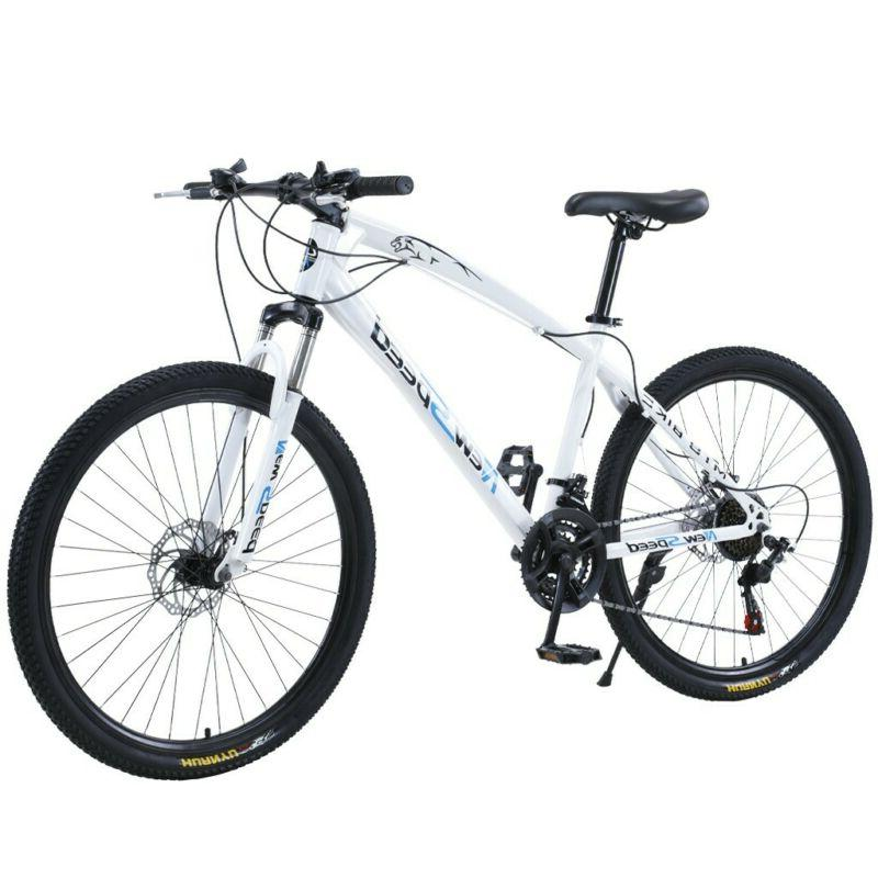 Mountain Bike Front Suspension Shimano 21 Speed Mens Bikes M