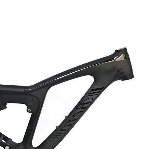 BEIOU Dual 3K Mountain Bike DW-Link Matte Internal Ultralight