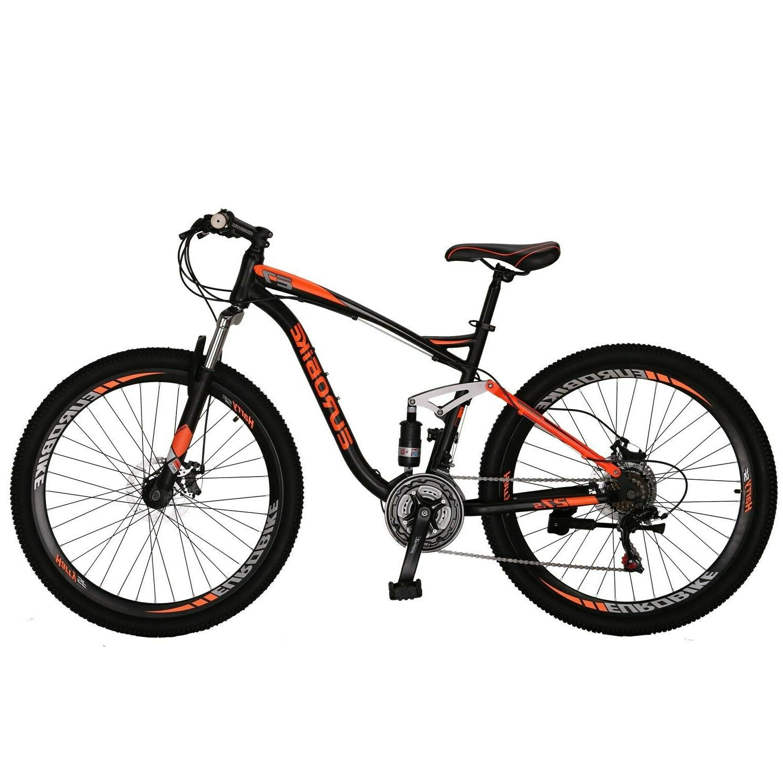 E7 Speed Bicycle Suspension Bikes Disc Brake