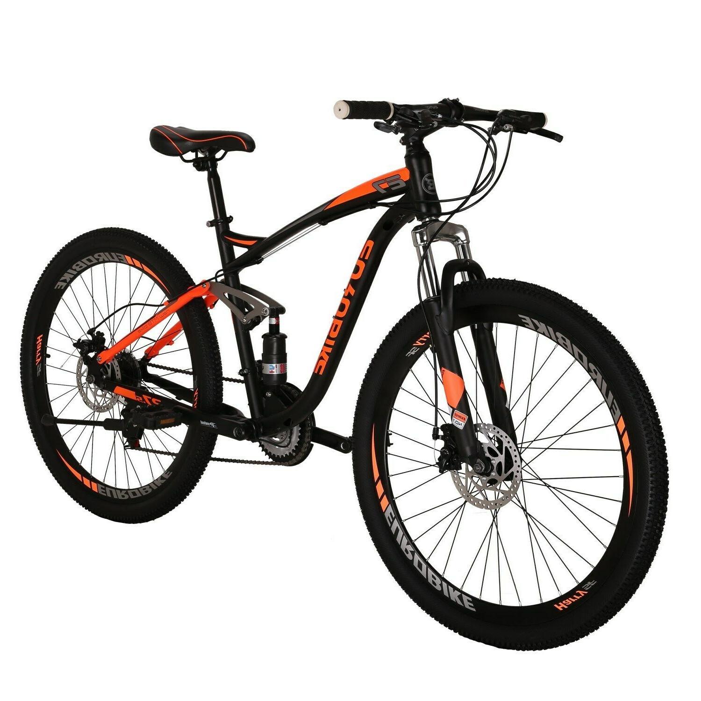 E7 21 Speed Bicycle Suspension Mens Brake