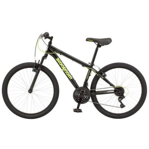 "🔥🔥Mongoose Excursion Mountain Bike, 24"", 21 Black/Neon Green 🔥🔥"