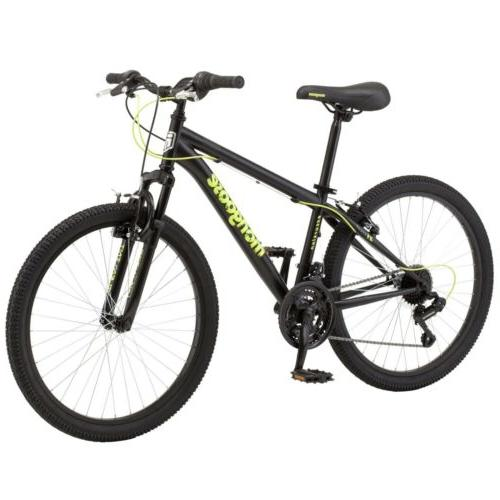 "🔥🔥Mongoose Bike, 24"", Speed Black/Neon Green 🔥🔥"