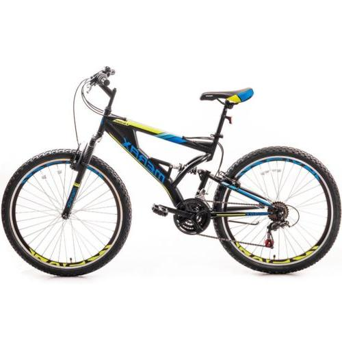 falcon full suspension mountain bike aluminum frame