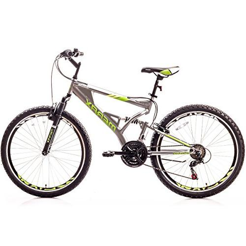 falcon suspension mountain bike aluminum