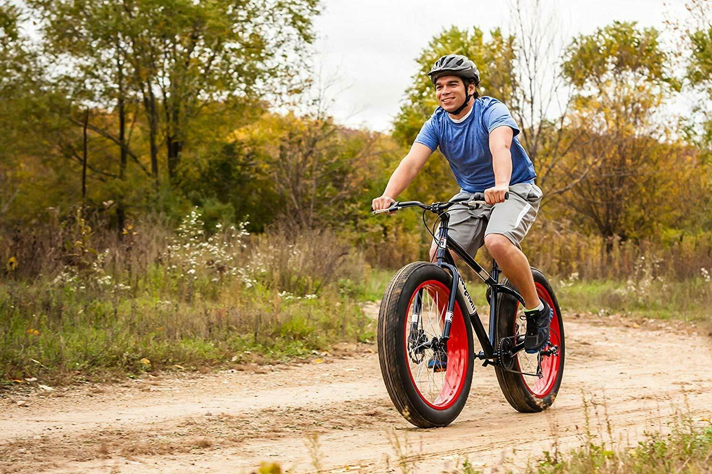 Fat 7-Speed 26-Inch Wheels Red