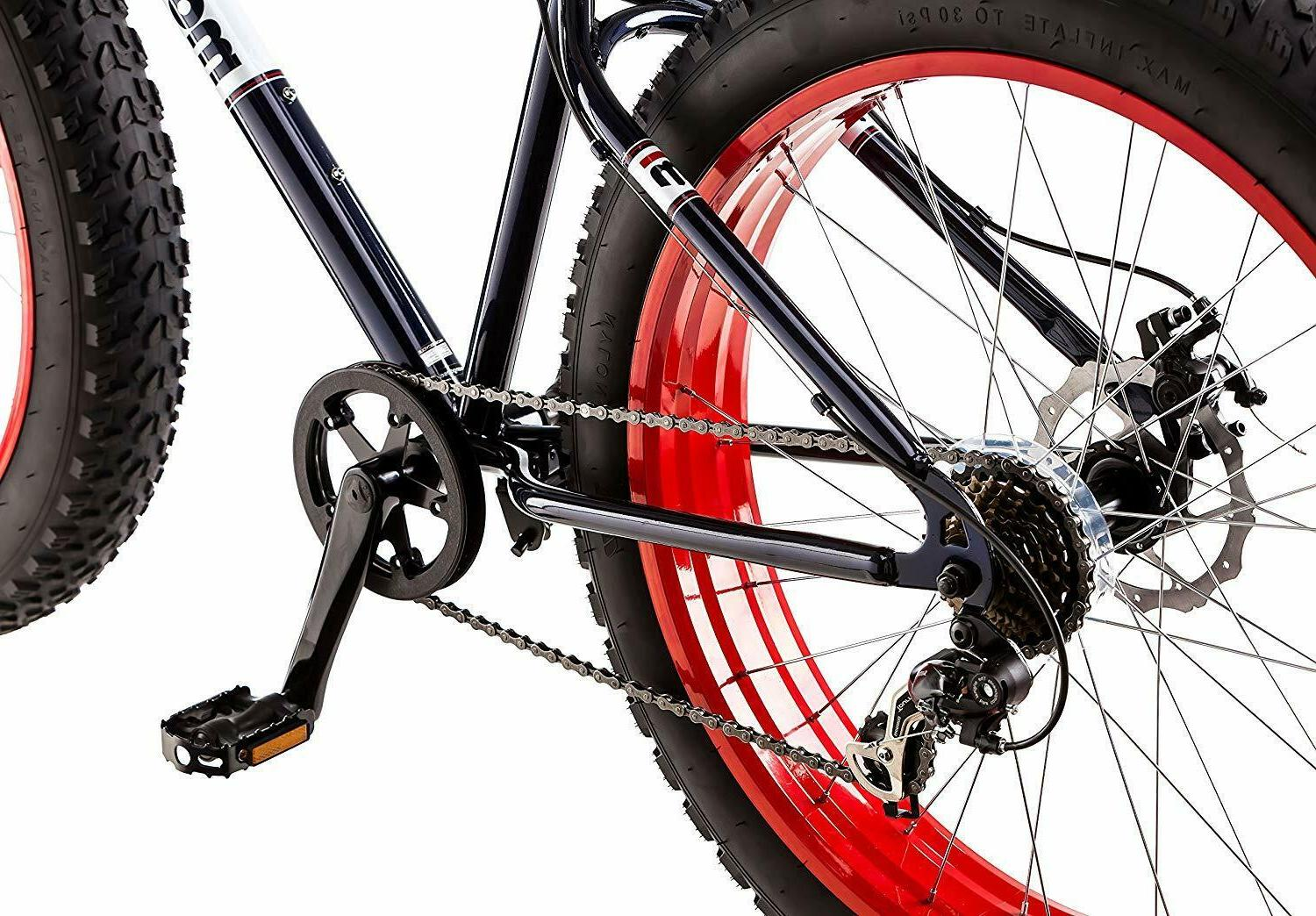 Fat Tire Bicycle Speed Drivetrain Wheels