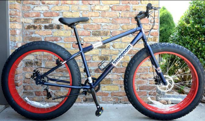 fat tire mountain bike 7 speed shimano