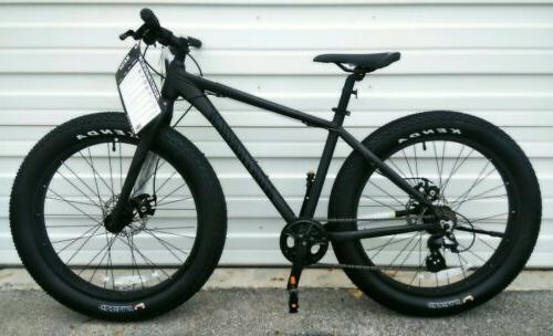 fat tires mountain bike dual disc brakes