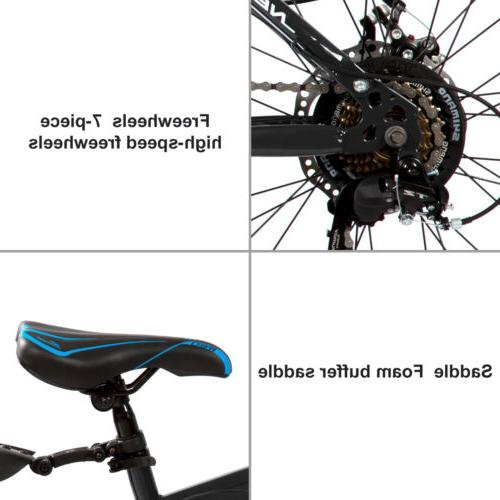 Folding Bike Speed Bicycle wheel Black USA