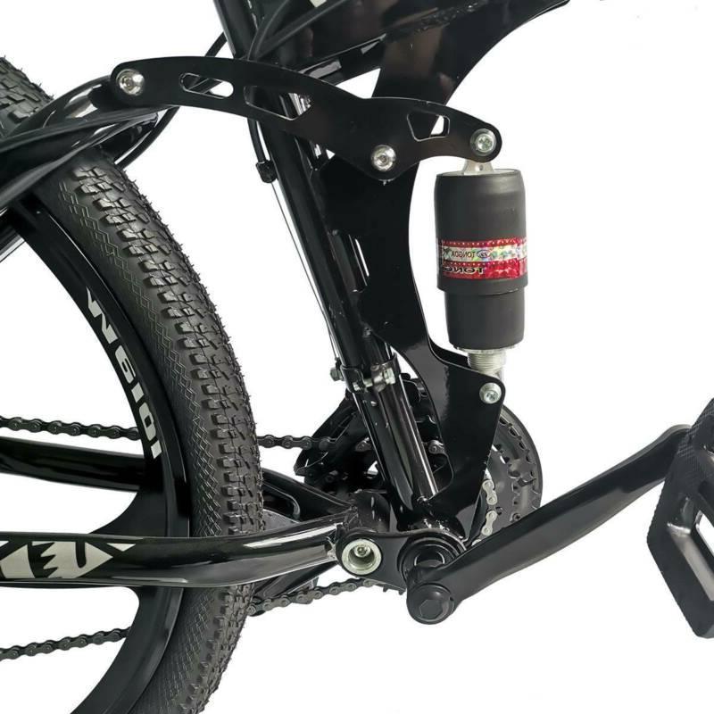 Folding Mountain Bike Full Suspension 21 Speed