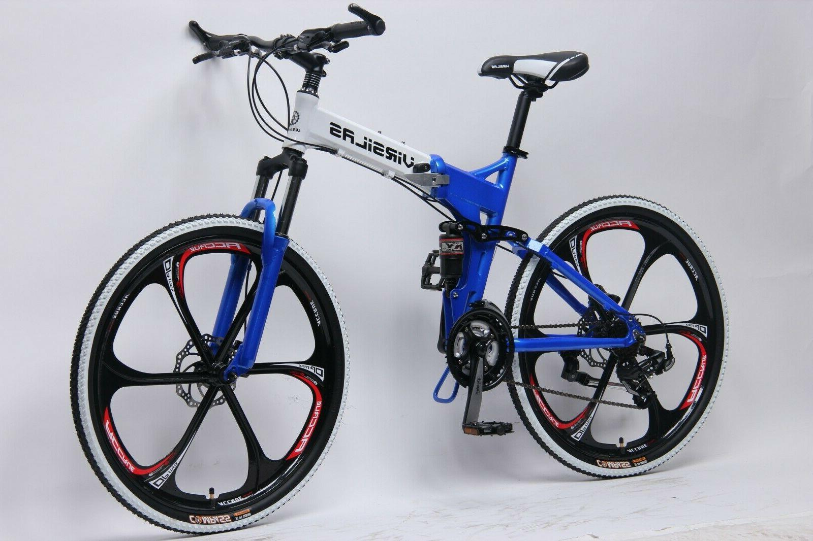 FOLDING SHIMANO FULL SUSPENSION