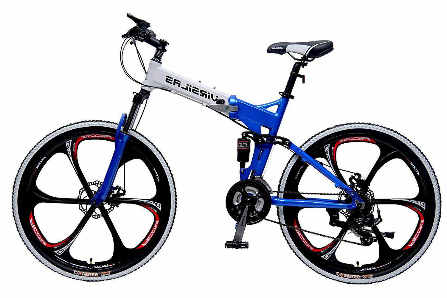 FOLDING BIKE MTB SUSPENSION