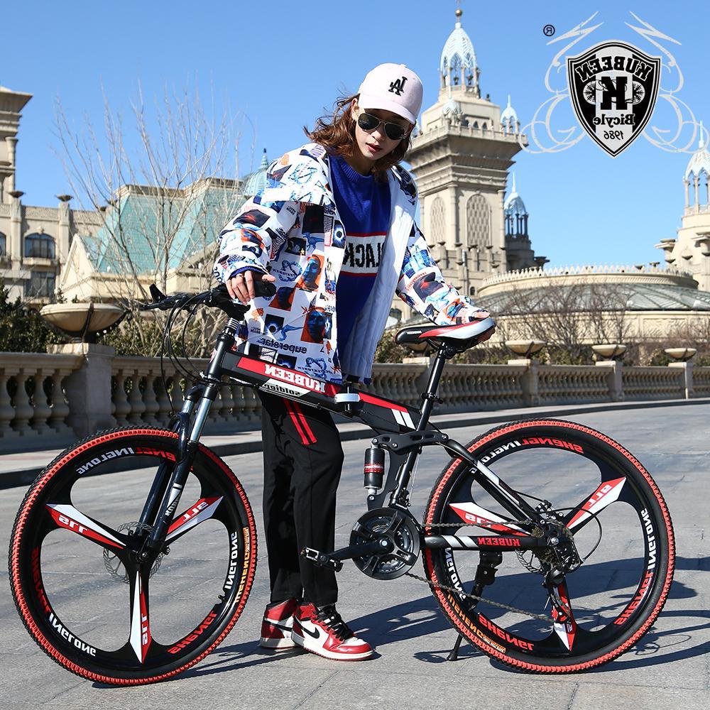 KUBEEN <font><b>bike</b></font> steel 21-speed bicycles disc brakes <font><b>road</b></font> <font><b>bikes</b></font> racing BMX