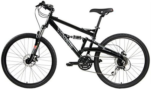 2018 Gravity FSX 1.0 Dual Full Suspension Mountain Bike with