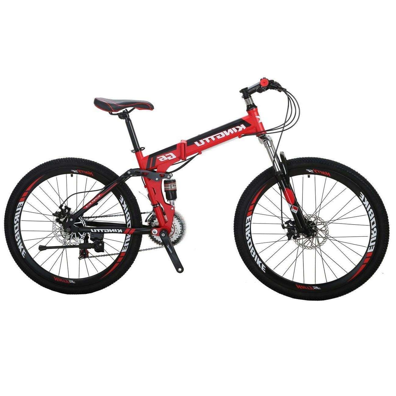 Kingttu Full Folding Bike 21 Speed