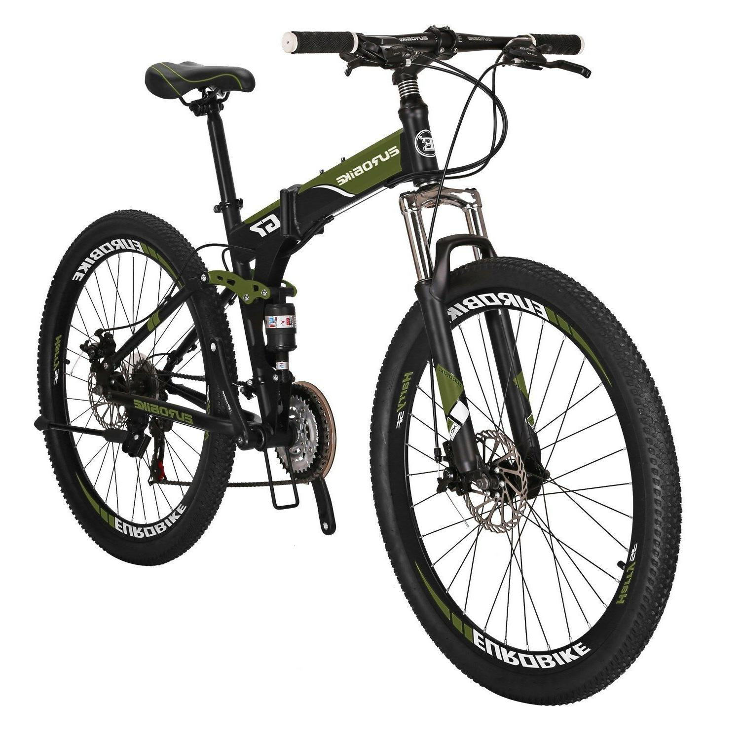 Full Bike Speed Bicycle Mens MTB