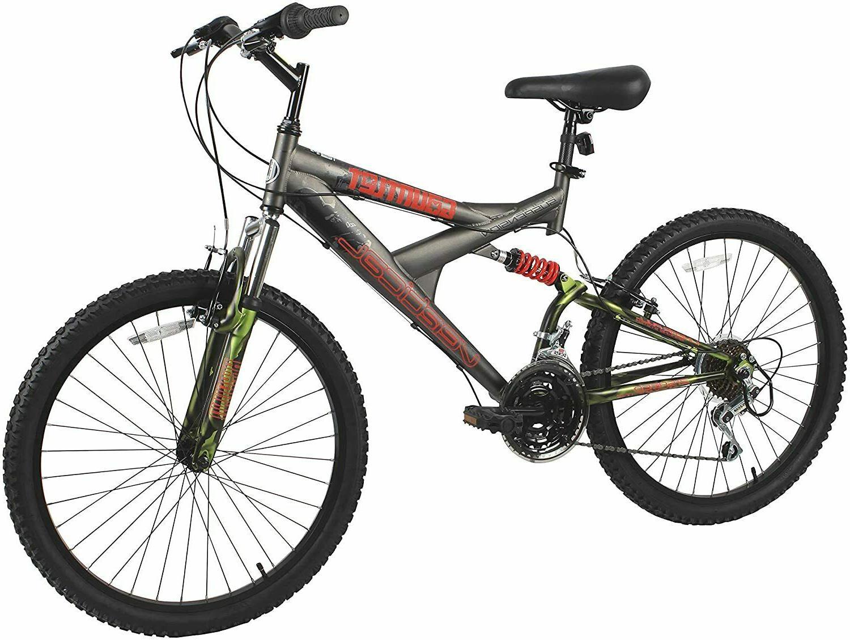 gauntlet dual suspension bike