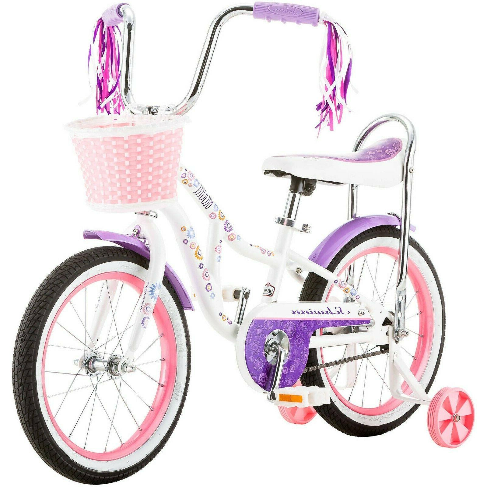 Girls Children Kids Girl Bicycles With Training 16 Inch