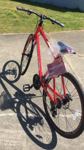 Hybrid Bike 700c Speed Bicycle