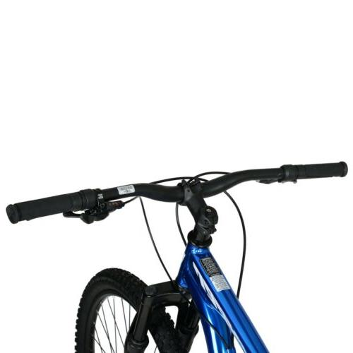 Hyper Hard Tail Mountain Bike, Blue 9 speed disc