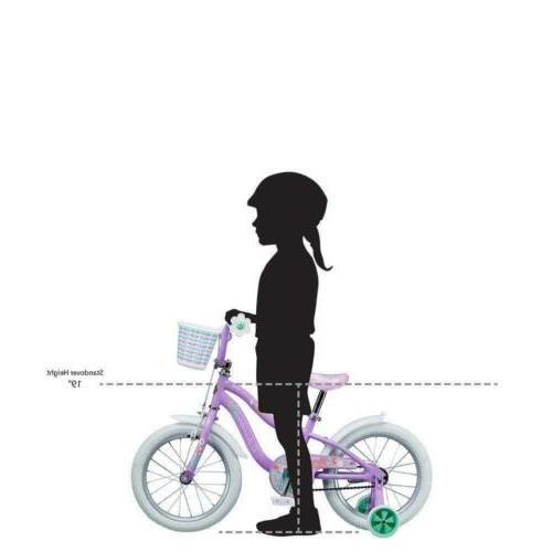 """Schwinn Jasmine Bicycle 16"""" size, age 4 to with training..."""