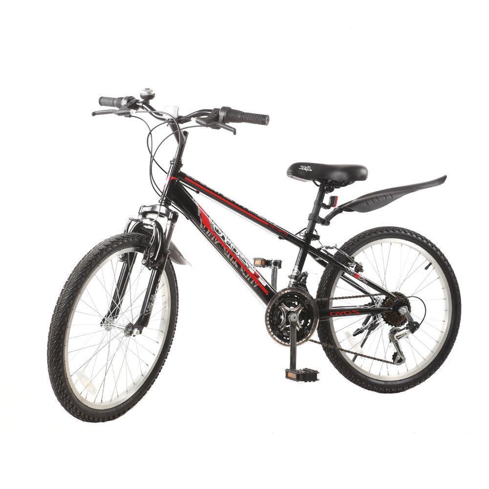 """22"""" Kids Bike Mountain Bike 21Speed Shimano Full Suspension"""