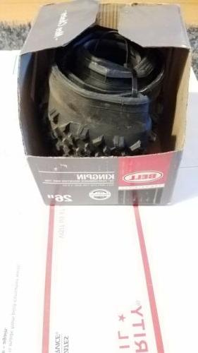 kingpin mountain tire black kevlar