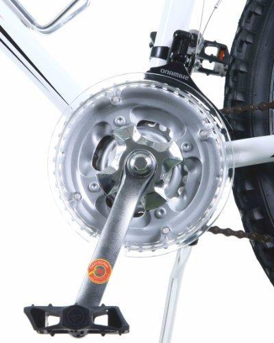 Titan White Knight Aluminum Suspension Men's Mountain with Disc Brake, 21-Speed