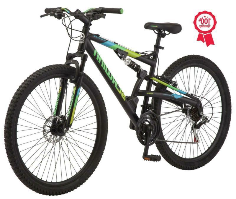 Mountain Bike Boys Bicycle Black