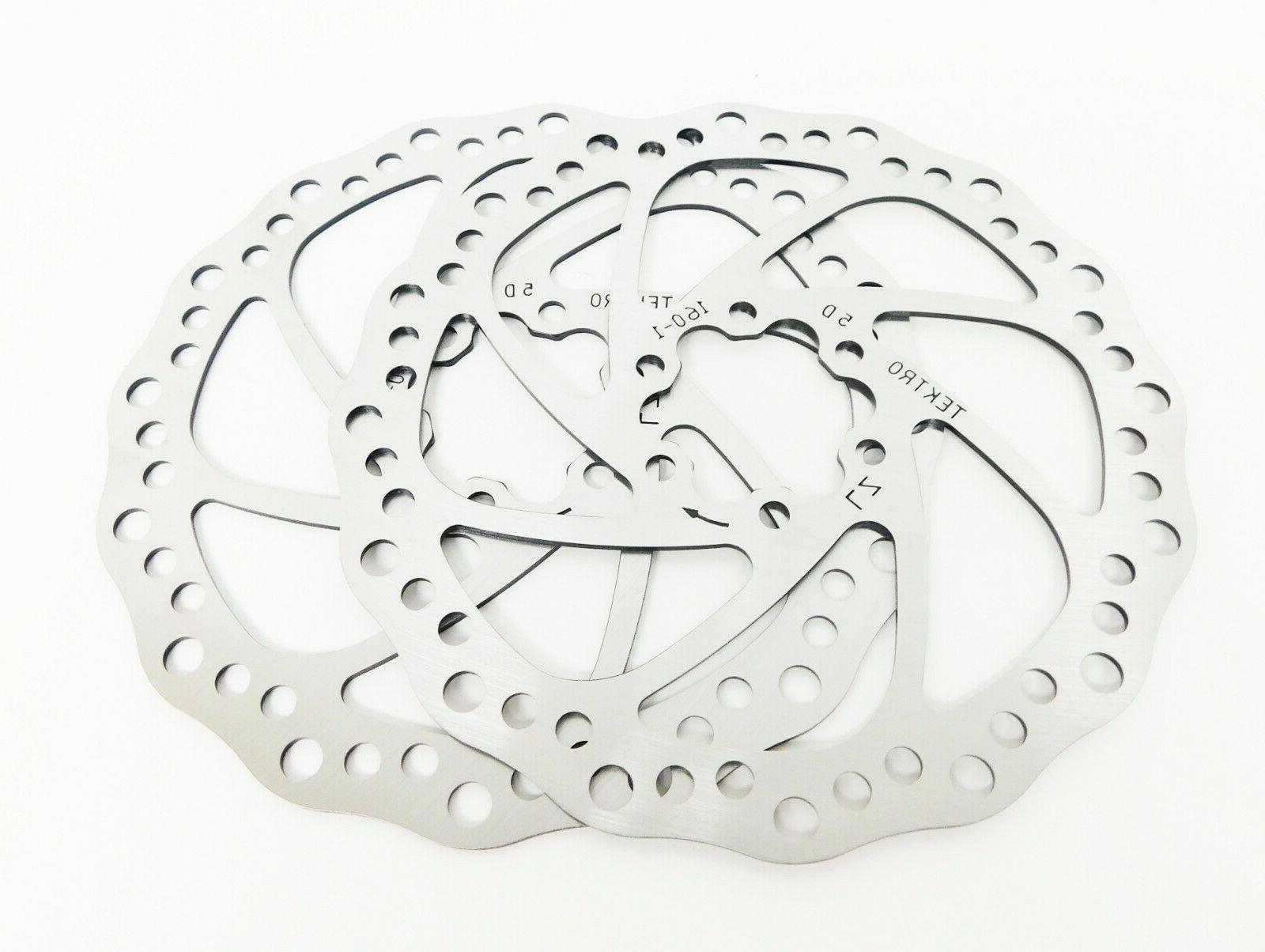 Tektro Aries Mechanical Disc Front Rear w Calipers, Rotors &