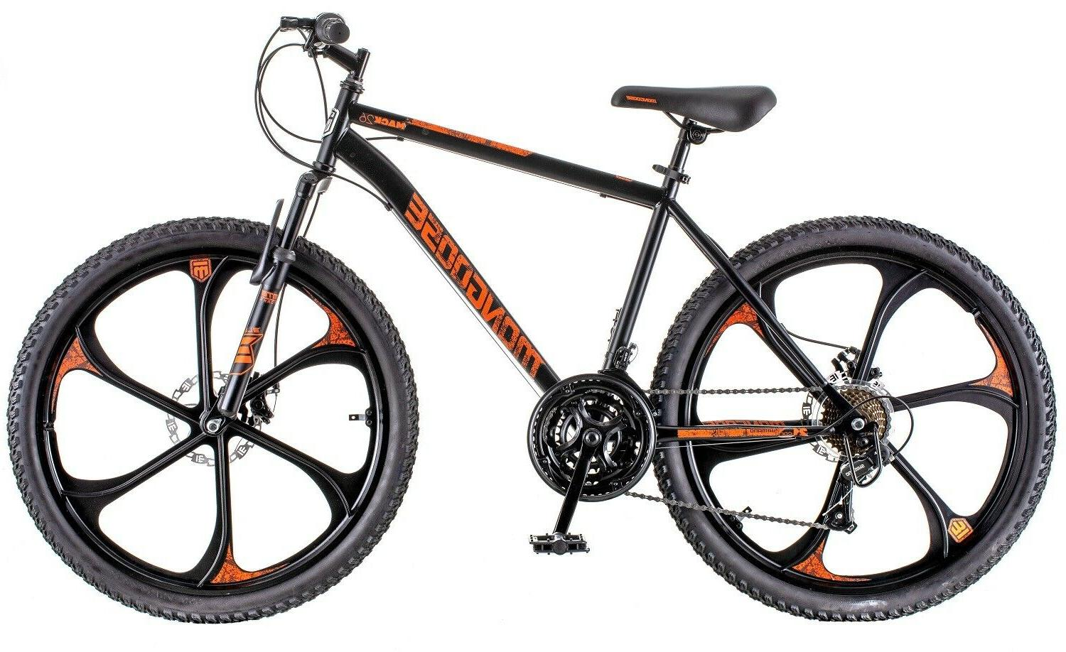 MENS MONGOOSE MACK26 21-SPEED STEEL BIKE -
