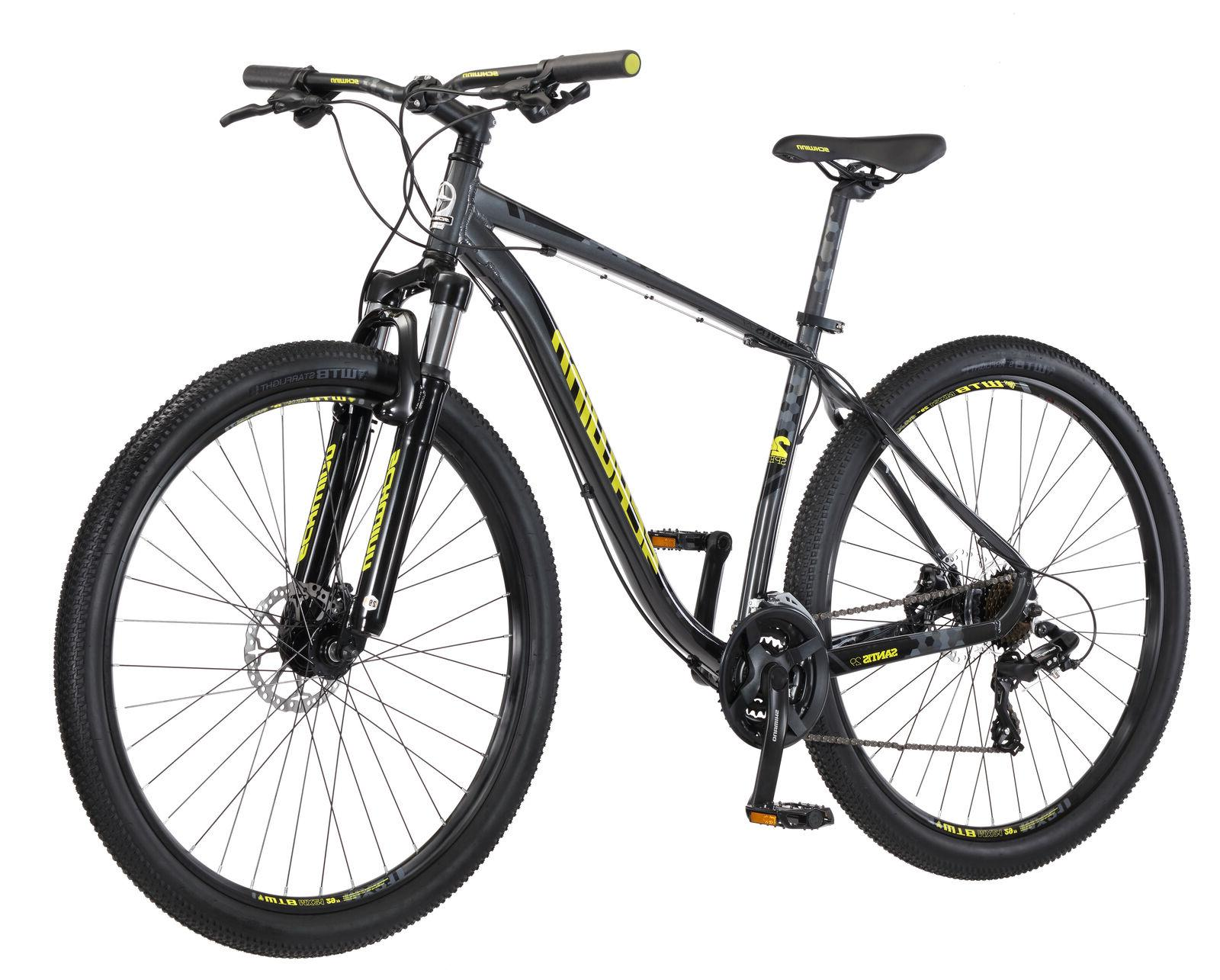 Mens Santis Schwinn 29 In Gray, 24-speed EZ-Fire