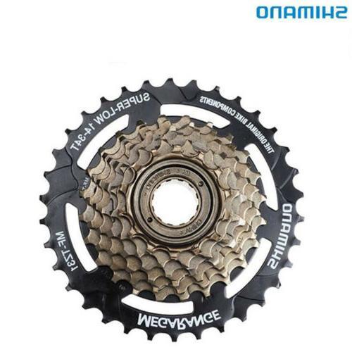 Shimano MF-TZ31-7 Speed Mountain Bike Bicycle Freewheel Screw-On