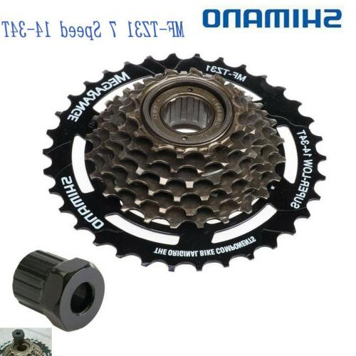 mf tz31 7 speed flywheel mountain bike