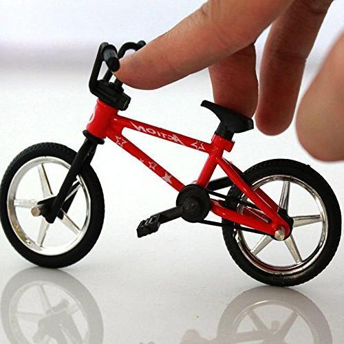 mini alloy finger bikes functional