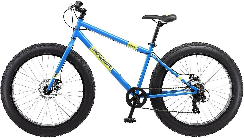 Mongoose Dolomite 26 Fat Tire Bike -blue