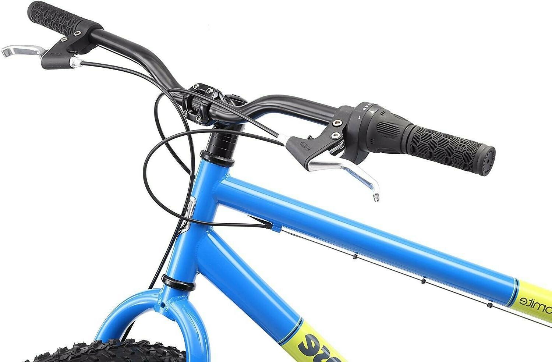 Mongoose inch Fat Tire Mens Mountain Bike -blue new