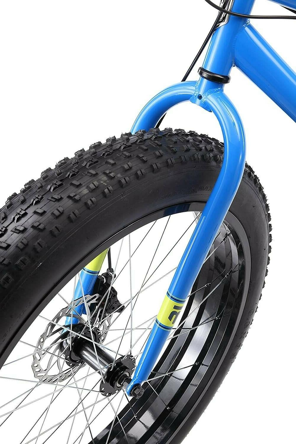 Mongoose 26 inch Fat Bike Bicycle -blue