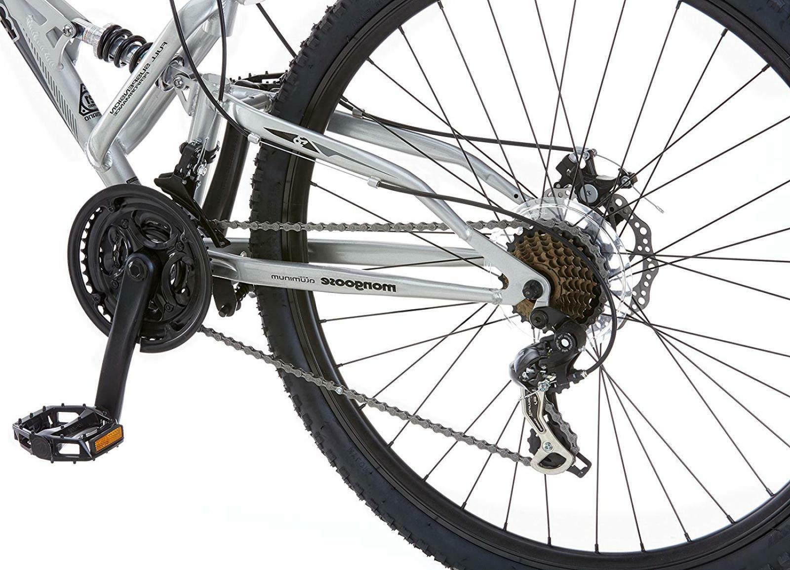 Mongoose R2780 Dual Full Bicycle
