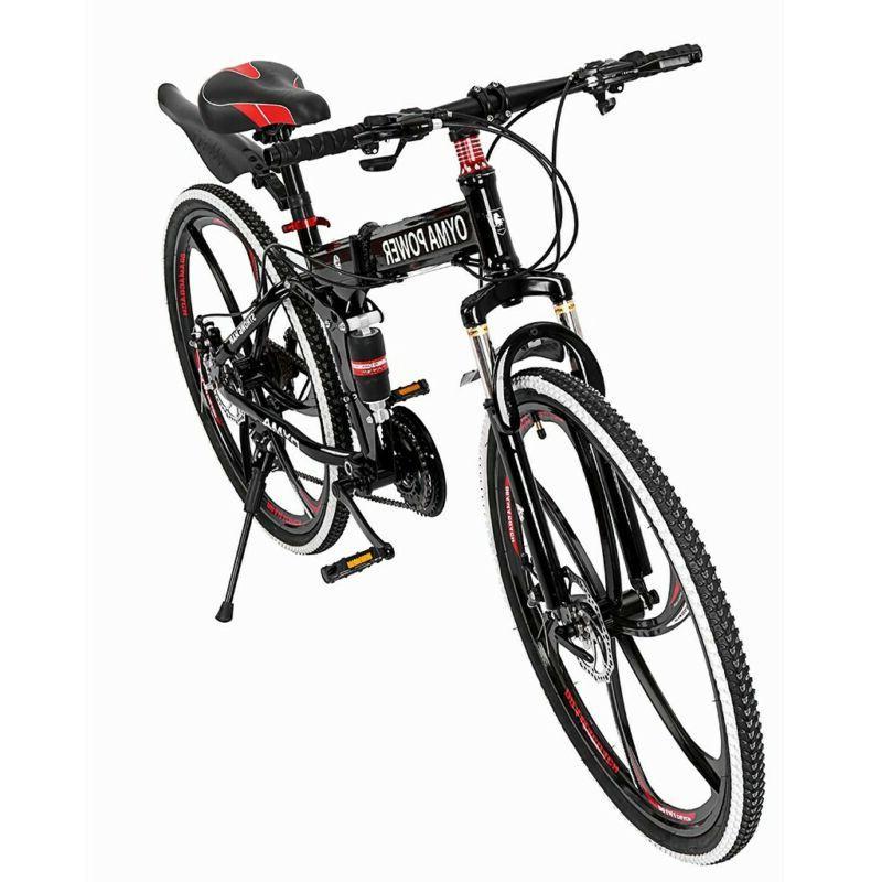 Outroad Mountain Bike Speed Double Brake Bicycles BLACK