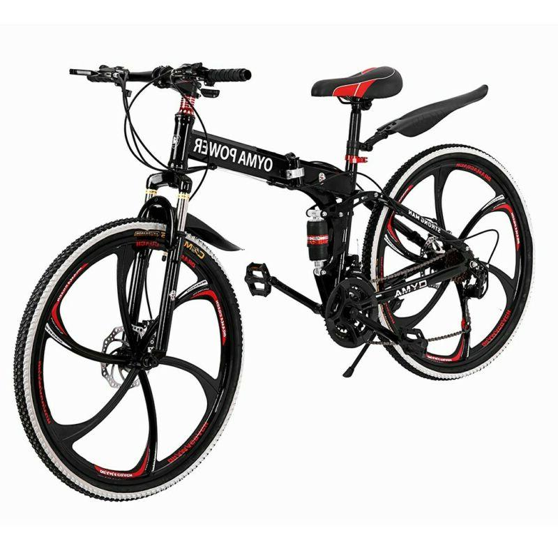 outroad mountain bike 21 speed 26 folding